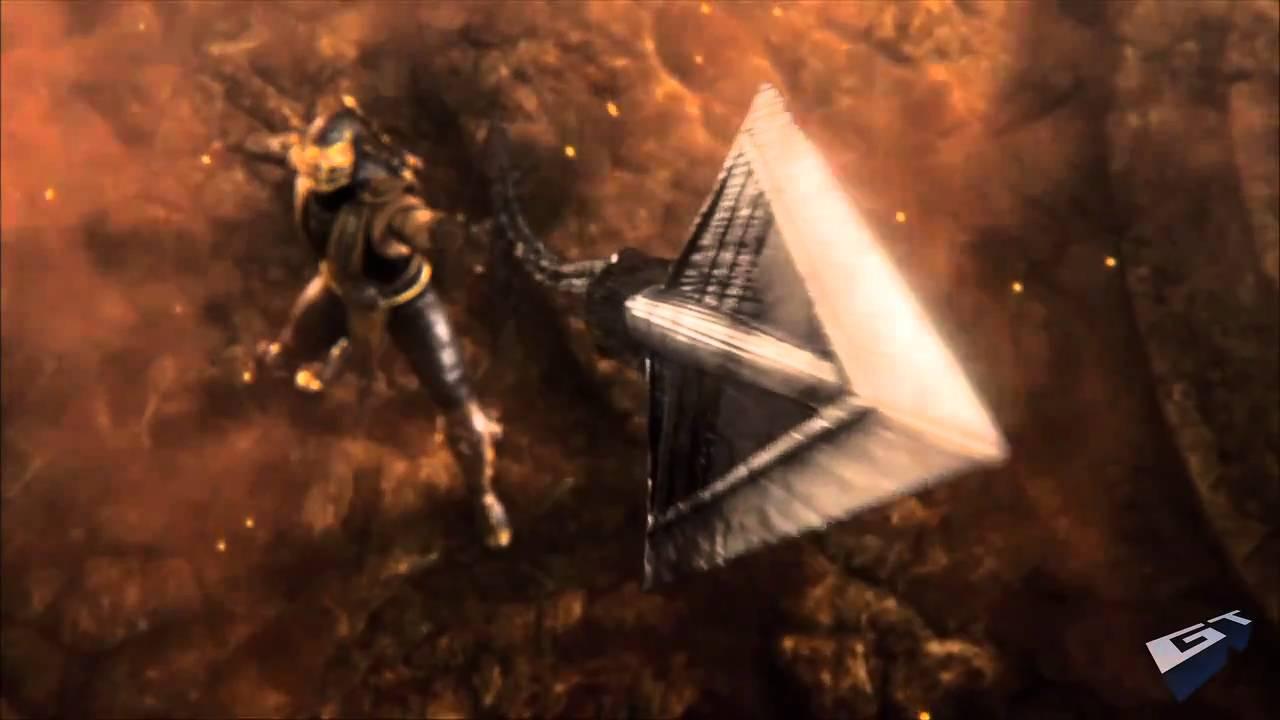 Mortal Kombat - Sub Zero vs Kratos   Heroe