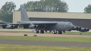 B-52H Stratofortress at RAF Fairford 15th September 2012