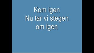 Caramelldansen-Swedish lyrics