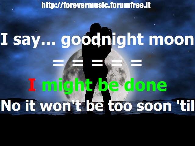 Shivaree - Goodnight moon KARAOKE Chords - Chordify