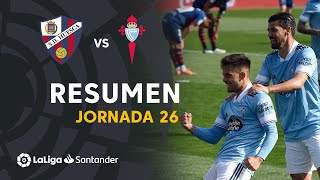 Resumen de SD Huesca vs RC Celta (3-4)