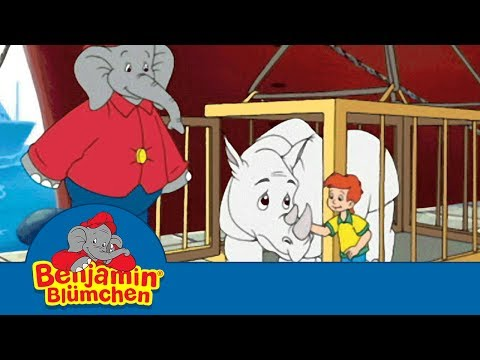 Benny the Elephant - The White Rhinoceros in اللغة العربية - Free episode in Arabic
