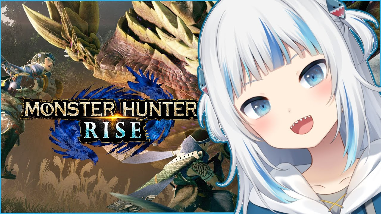 [Monster Hunter Rise] May the hunt BEGIN