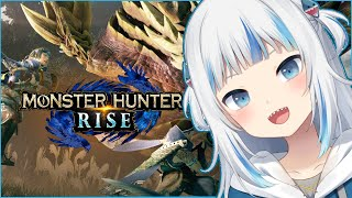 [Monster Hunter Rise] May the hunt BEGIN