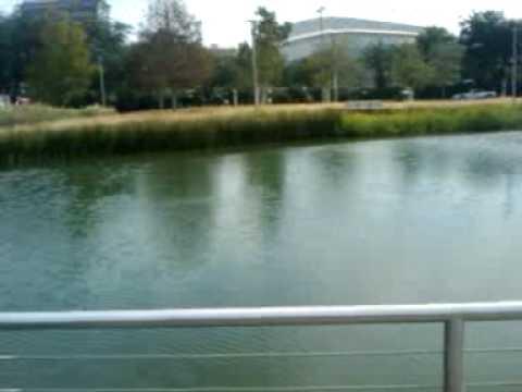 Discovery Green Park Houston Texas