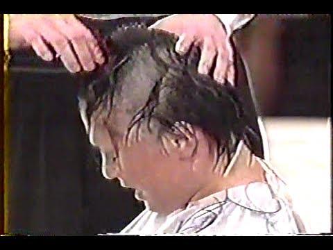 女子プロレス敗者髪切りマッチ 山田敏代