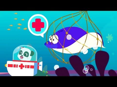 Play Kids Ocean Doctor Help Animals And Learn Marine Animals - Fun Games for children