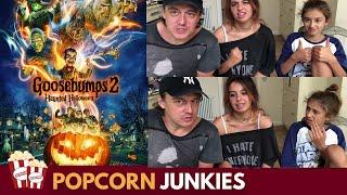 Goosebumps 2 (Haunted Halloween) Official Trailer - Nadia Sawalha & Family Reaction & Review