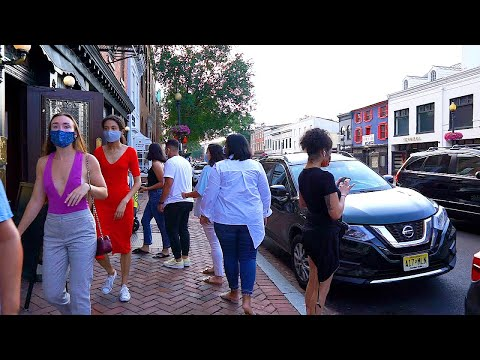 Walking D.C.'s Busiest SHOPPING DISTRICT in 2020 | GEORGETOWN Phase 2, D.C. City Walk 【HD】