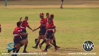 School Rugby Action - u/14 HTS Middelburg vs Garsfontein 12-05-18
