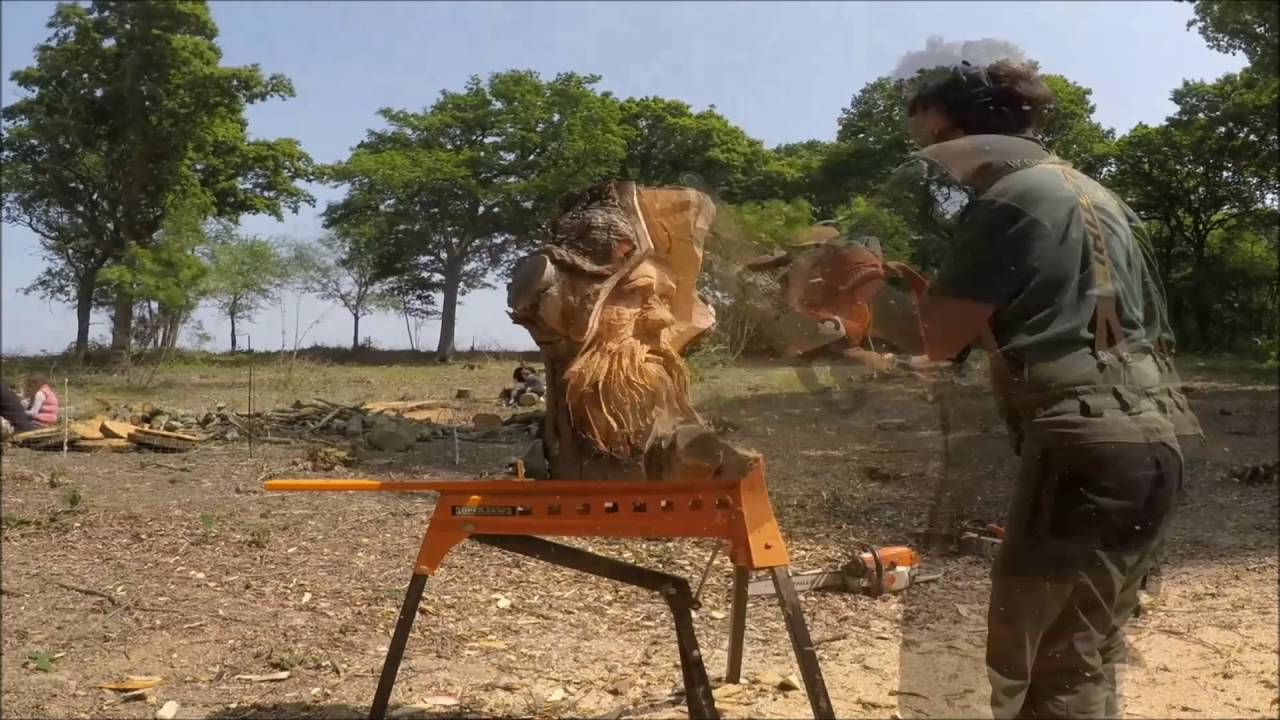 Chainsaw carving speed carves dave youtube