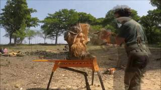 Chainsaw Carving - 3 Speed Carves - Chainsaw Dave