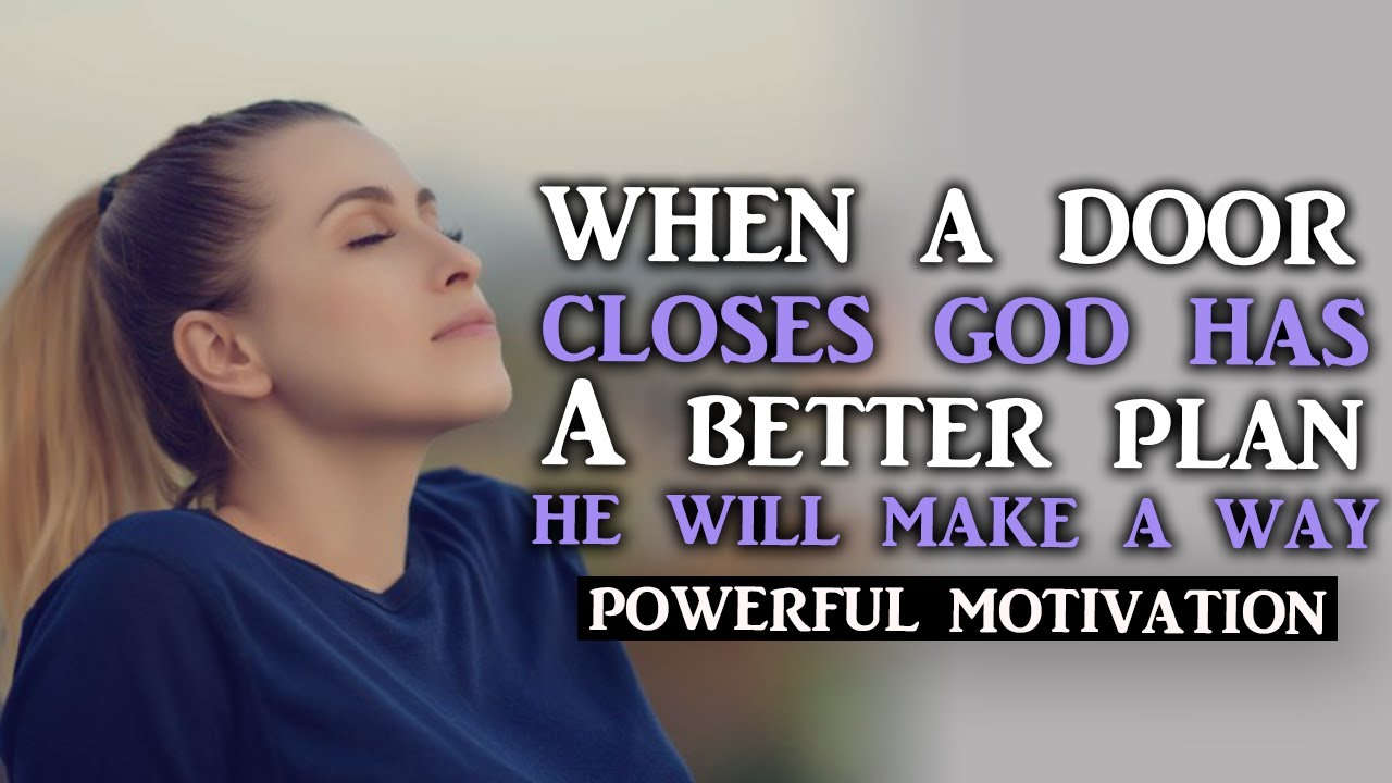 WITH GOD ALL THINGS ARE POSSIBLE TALK ABOUT THE PROMISE NOT THE PROBLEM - Motivational Video