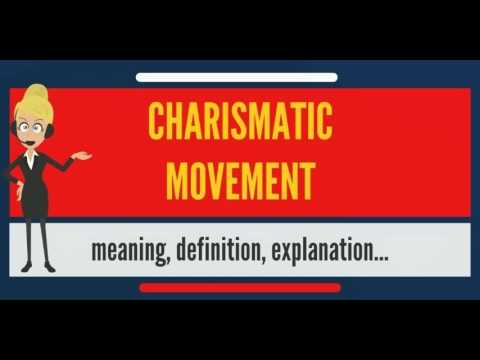 what does charismatic mean