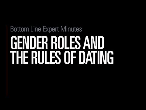 Gender Roles And The Rules Of Dating