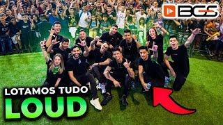 SUCESSO!! LOUD LOTOU O MAIOR EVENTO DE JOGOS DO BRASIL!! (BGS)