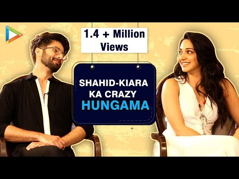 ROFL: Shahid Kapoor- Kiara Advani's CRAZIEST Quiz On Angry Men In Bollywood | Kabir Singh