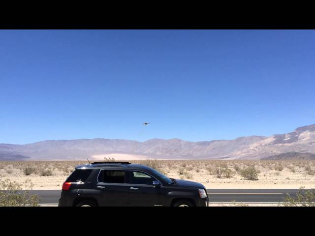 F18's flying low through Panamint Valley Nevada