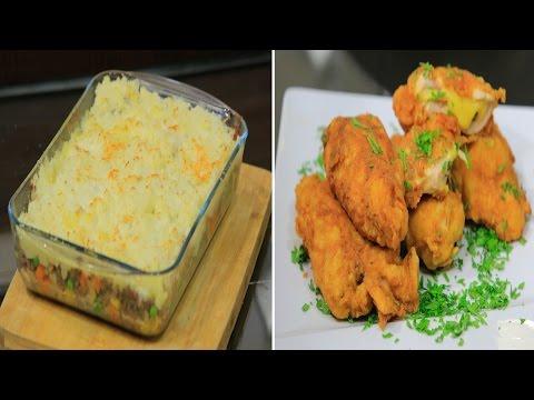 دجاج كوردن بلو - فطيرة الراعي - سلطة تفاح بعين الجمل : اميرة في المطبخ حلقة كاملة