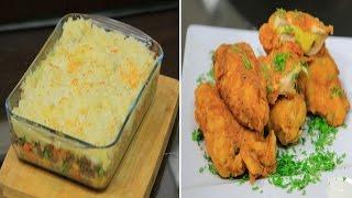 دجاج كوردن بلو - فطيرة الراعي - سلطة تفاح بعين الجمل | اميرة في المطبخ حلقة كاملة