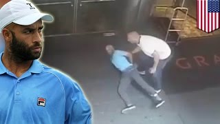 James Blake arrest: NYPD release video showing the arrest of the former tennis-pro - TomoNews