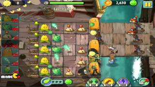 Plants Vs Zombies 2 Walkthrough - Pirate Seas - Last Stand All Stars