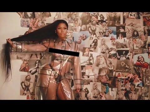 Nicki Minaj Goes Topless For Her Latest Photoshoot
