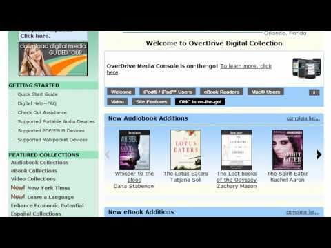 How To Use OverDrive With Your EReader
