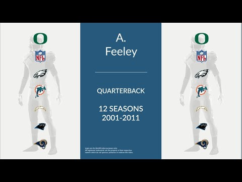 A. J. Feeley: Football Quarterback