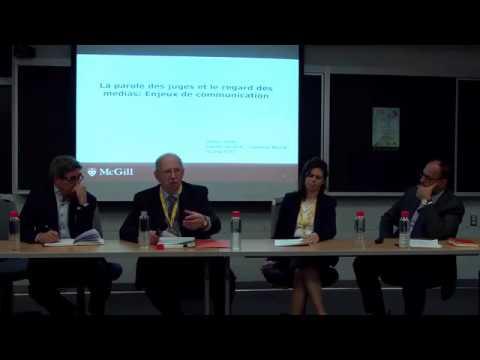 Tribunaux et médias -  Une relation sous tension (12 mai 2017 - 2 de 5)