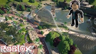 Roblox: Theme Park Tycoon 2 #01 - Eu sou muito noob 😟
