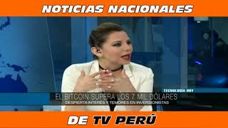 BITCOIN NOTICIA NACIONAL TV PERU