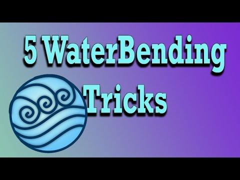 Minecraft 5 Waterbending Tricks (projectkorra)