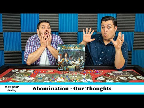 Abomination: The Heir of Frankenstein – Our Thoughts (Board Game Review)