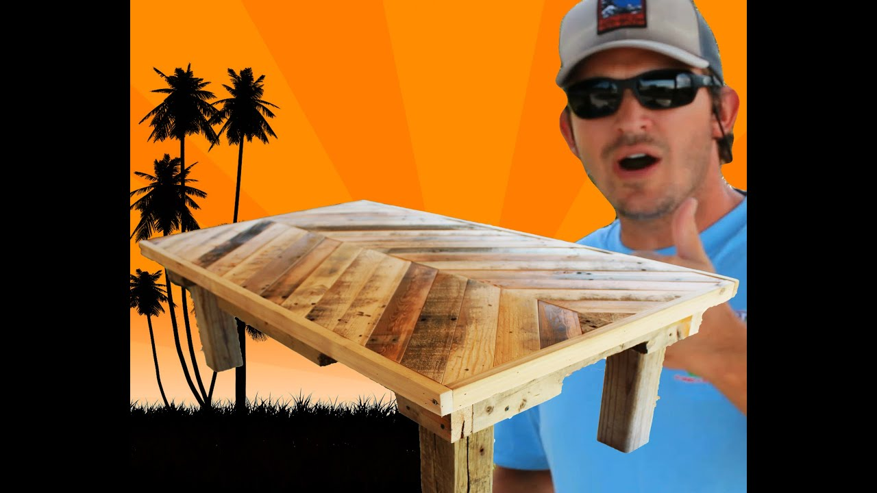 How to build a coffee table out of pallet wood project 5 paint distress antique furniture youtube One of a kind coffee tables