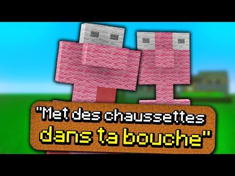 Je CRÉÉ VOS PIRES IDÉES de VIDÉO (Minecraft)