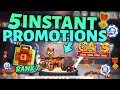 5 INSTANT PROMOTIONS! C.A.T.S Maxed Car, Opening Boxes - Crash Arena Turbo Stars