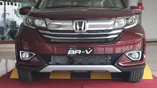 Honda BR-V Facelift 2019 | Live | First Look Review