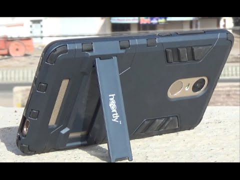 free shipping 9390d 124a2 Redmi Note 3 Chevron Military Grad Kick Stand Back Cover Case