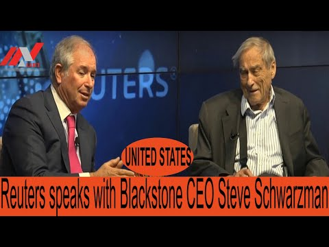 Reuters Speaks With Blackstone CEO Steve Schwarzman || UNITED STATES