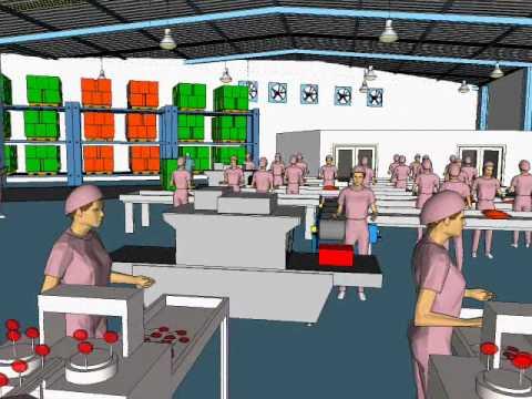 Diseo de una planta industrial en 3D  YouTube