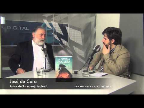 José de Cora, autor de 'La navaja inglesa'. 21-4-2014