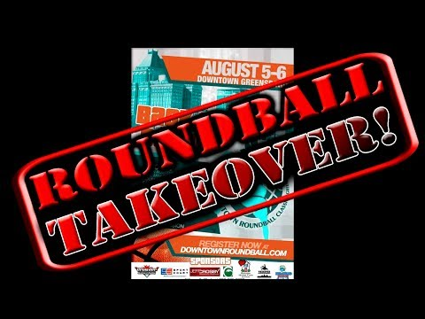 HIP HOP STAR TV: THE GREENSBORO DOWNTOWN ROUNDBALL TAKEOVER EPISODE