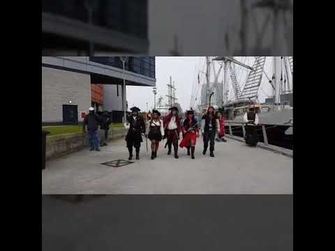 Pirates at Belfast Maritime festival