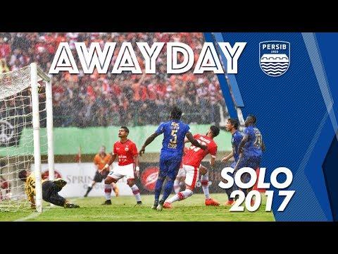 AWAY DAY SOLO   Gojek Traveloka Liga 1 2017   Match Persija vs PERSIB 03 November 2017
