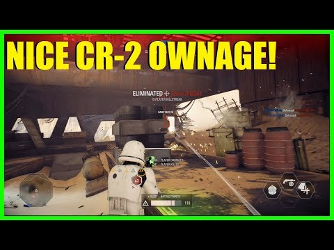 Star Wars Battlefront 2 - Amazing CR2 ownage! | Nice infantry only killstreak (Vader, Palp)