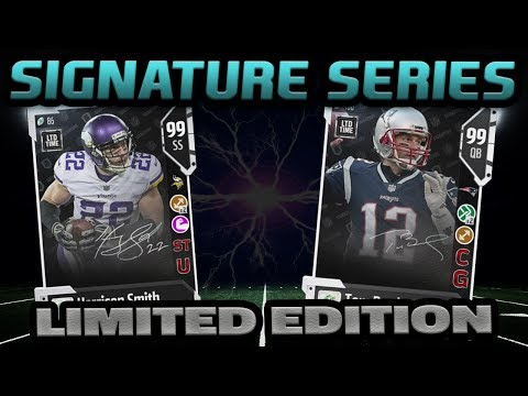 LIMITED EDITION SIGNATURE TOM BRADY | MADDEN 18 ULTIMATE TEAM