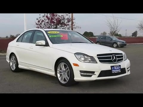 2014 Mercedes-Benz C-class Sedan C250 Tracy Stockton Modesto Manteca Antioch