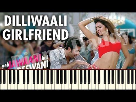 Dilli Wali Girlfriend Piano Tutorial ~ Piano Daddy