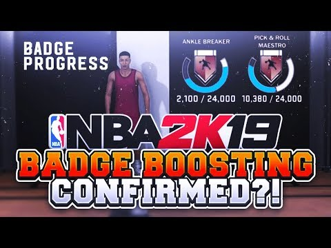 NBA 2K19 BADGE BOOSTING CONFIRMED!(CHEATING) NEW ARCHETYPE